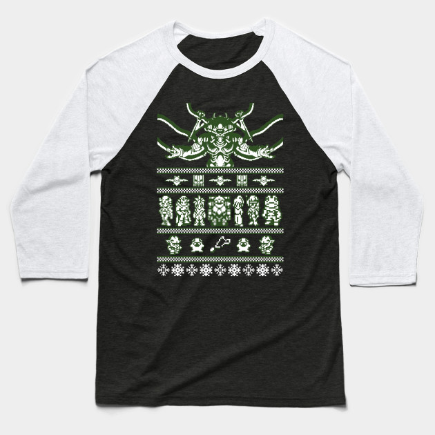 Chrono Christmas ugly sweater