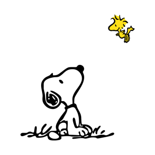 Snoopy and Woodstock t-shirts