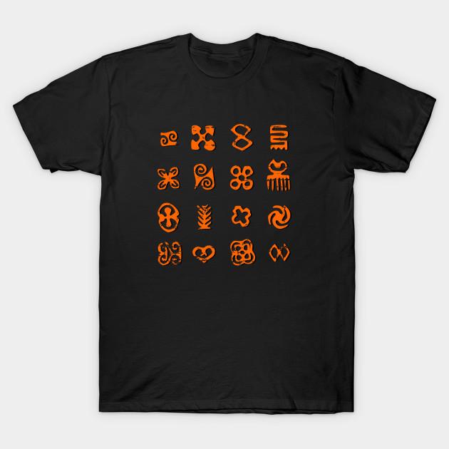 Distressed Adinkra African Symbols African T Shirt Teepublic