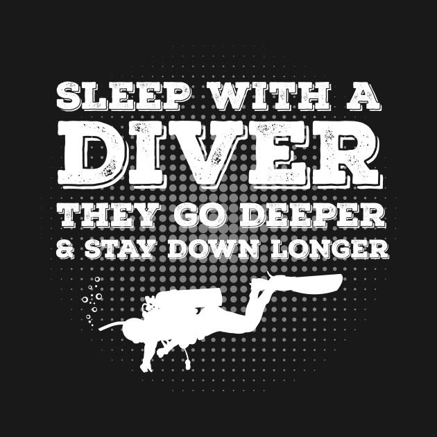 Sleep With A Scuba Diver