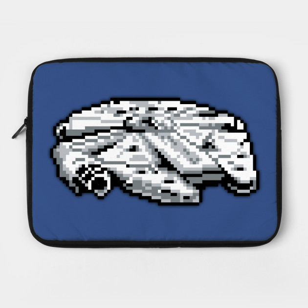 The Millennium Falcon Low Res Pixelart By Cheesemouse2