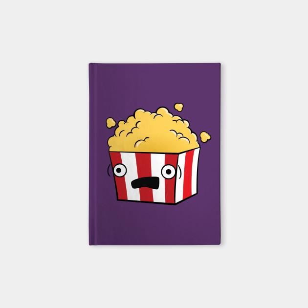 Cute, Kawaii, Cartoon Popcorn