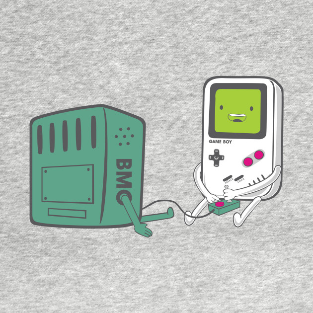 Game Boy Playing A Bmo T-Shirt