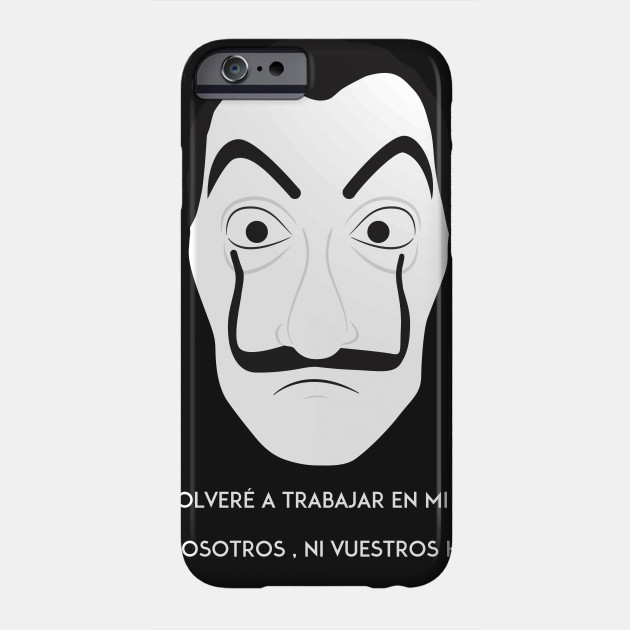 la casa de papel la casa de papel phone case teepublic. Black Bedroom Furniture Sets. Home Design Ideas