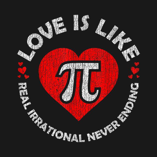 Math Teacher Student Love Valentines Day T-Shirt - Sapone