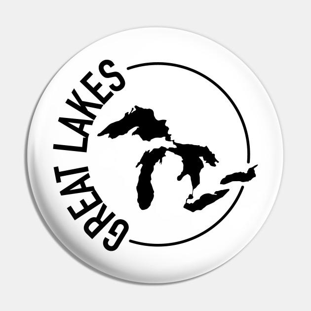 Michigan Great Lakes Pin