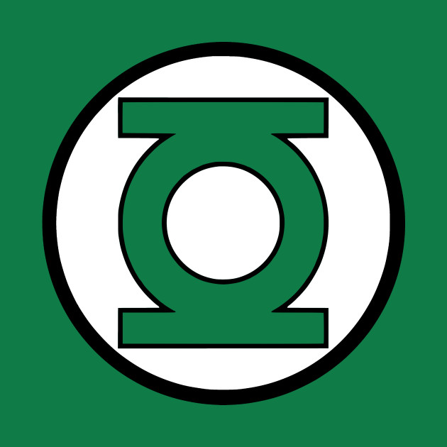 It's just a graphic of Obsessed Green Latern Logo
