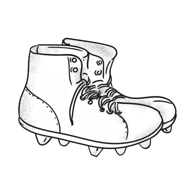 Vintage American Football Boots Drawing Vintage American Football Boots Drawing Kids T Shirt Teepublic
