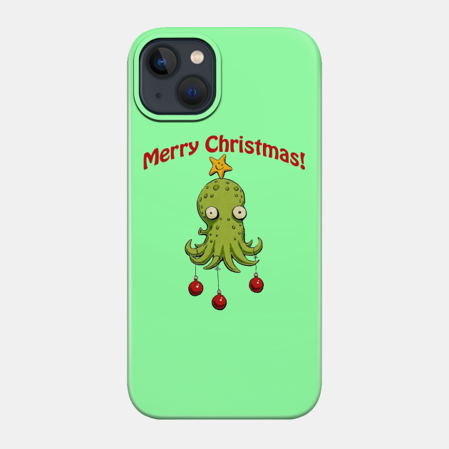 Christmas Cephalopod Merch
