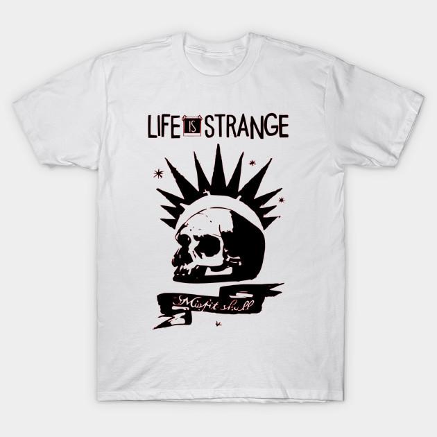 65fae0f0df2 Life is Strange Skull - Life Is Strange - T-Shirt