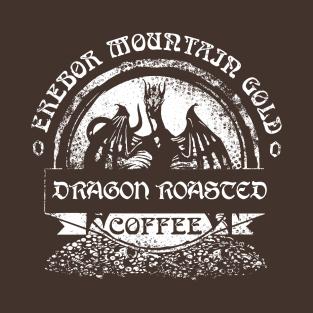 Erebor Mountain Gold Coffee t-shirts
