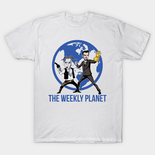 The Weekly Planet T-Shirt-TOZ