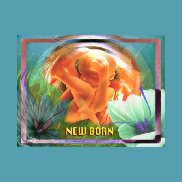 Fetal Floral ~ New Born