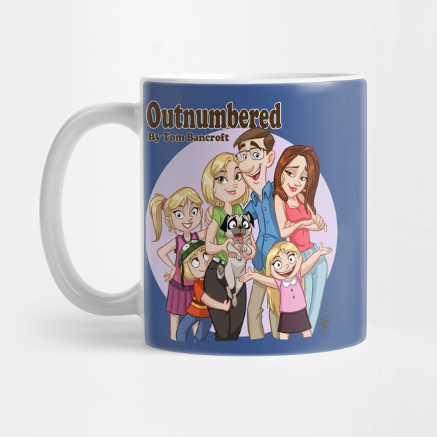 Outnumbered webcomic t-shirt