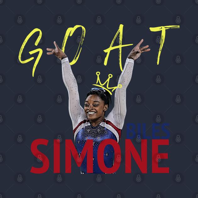 Simone Biles Goat - Simone Biles - Tank Top | TeePublic PL