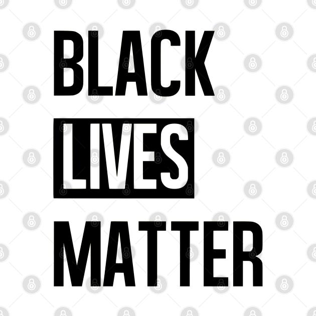 Black Lives Matter Bold Typography, TPSSG