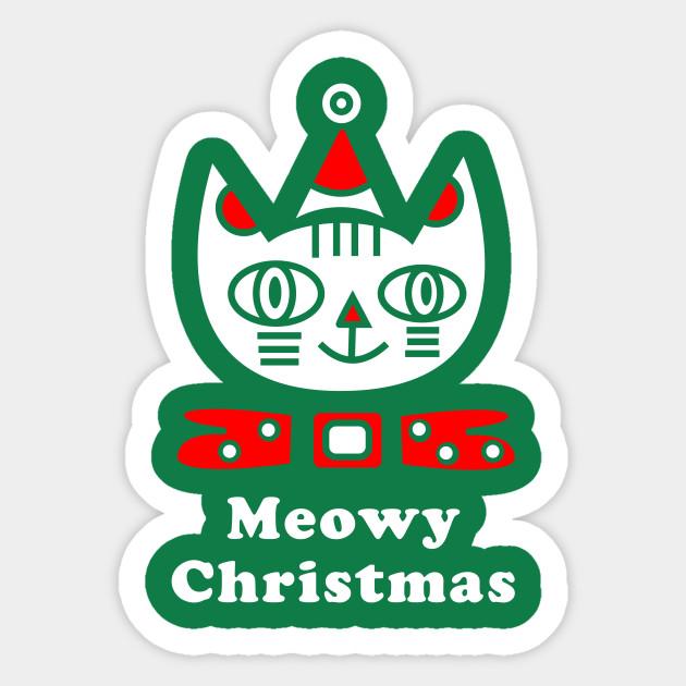 Meowy Christmas.Meowy Christmas T Shirt Christmas Holiday Funny Cat Lover Kitten Gift Tee Tshirt