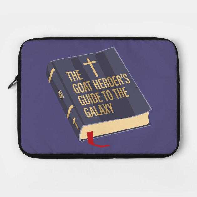 4a322bc5 Atheist Gear - Bible Spoof - Atheist - Laptop Case   TeePublic
