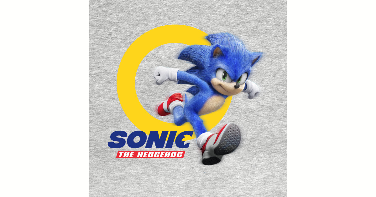 Sonic The Hedgehog Movie 2020 Sonic The Hegdehog Sticker Teepublic
