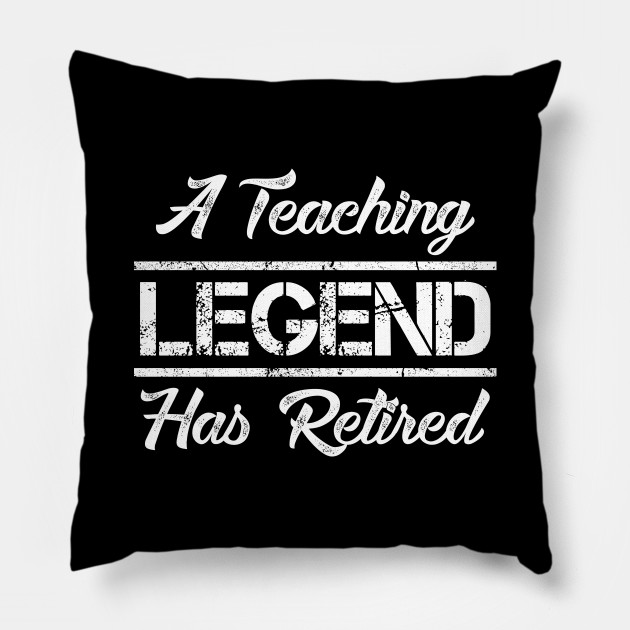 A Teaching Legend Has Retired Teacher Retirement