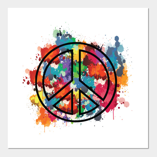 PEACE - Awesome - Posters and Art Prints | TeePublic UK
