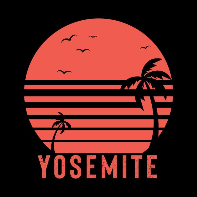 f325f5a90 ... Yosemite Tshirt - Outdoor Shirt - Camping Shirt - Vintage - Summer Shirt  - Vintage -