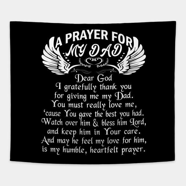 Happy Birthday Death Quotes: A Prayer For My Dad Tshirt Happy Birthday In Heaven Father
