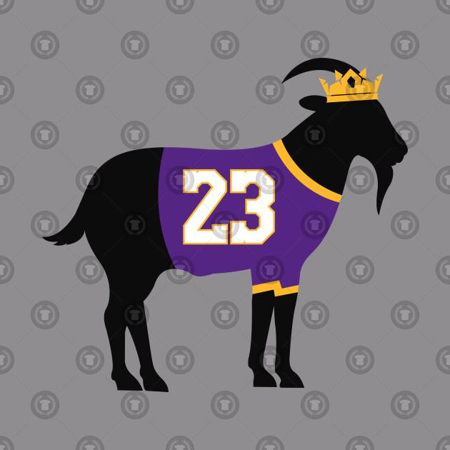 1b7173c68 Lakers Lebron James Goat - Lebron James - Hoodie