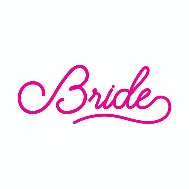 Bride - Wedding Bridesmaid Bachelorette Party Design