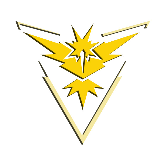 582346 Pokemon Go Team Instinct Logo Yellow