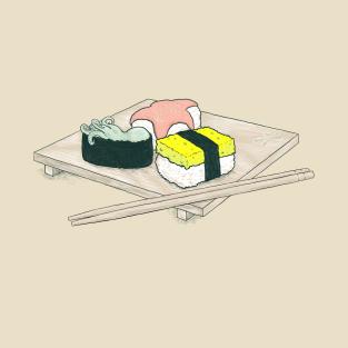 Seafood Sushi t-shirts