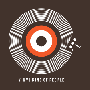 Vinyl Kind Of People t-shirts