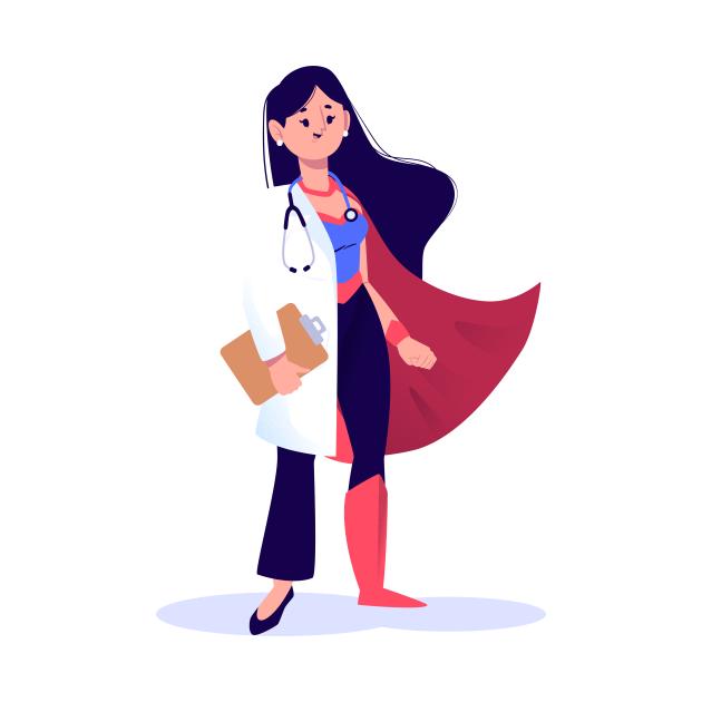 NURSE & DOCTOR SUPERHERO