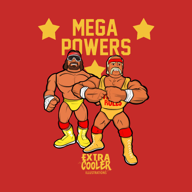 Mega Powers Illustration