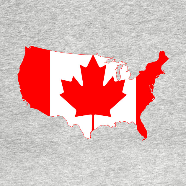 Canadian Flag Canada Maple Leaf Adult Mens Fashion Long Sleeve Hoodie T Shirts