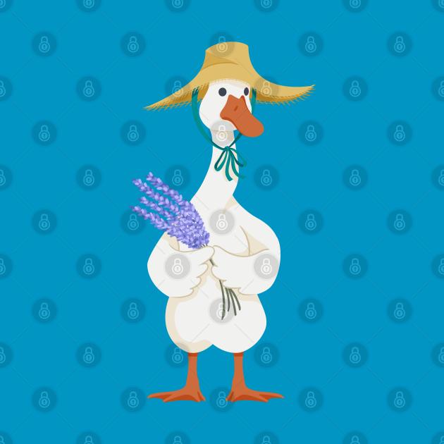 Lavender Goose
