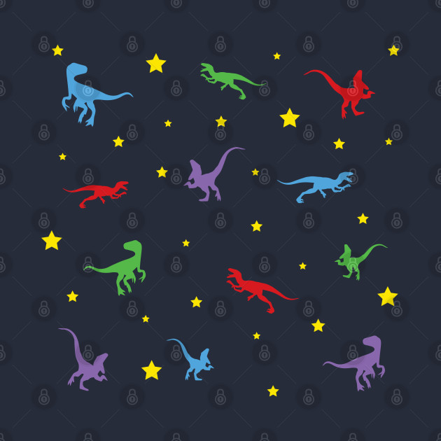Goodnight Raptor Pattern