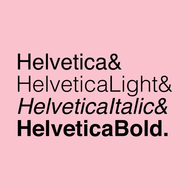 Helvetica List