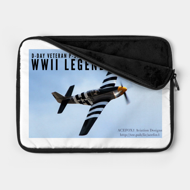 2-Sided P-51 Mustang WWII Legend