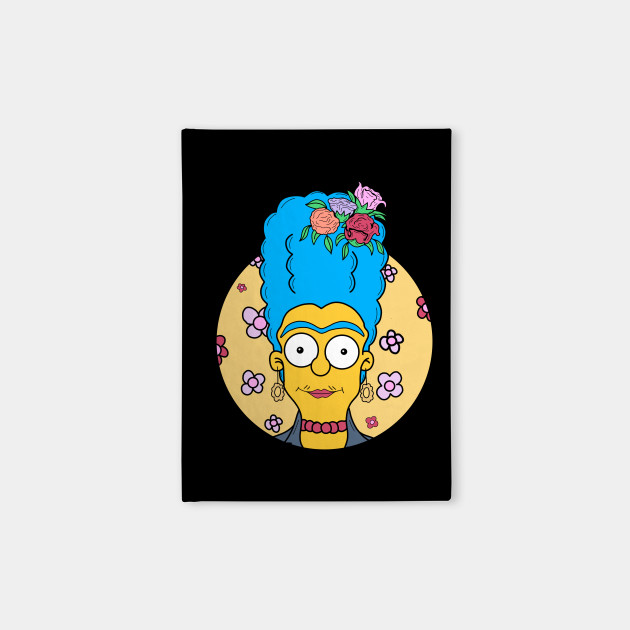 Marge Simpson Kahlo
