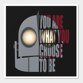 Exceptional You Are What You Choose To Be Wall Art