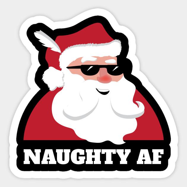 Naughty AF Dirty Santa Christmas Joke