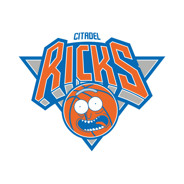 Citadel Ricks - New York Knicks Parody Basketball Shirt