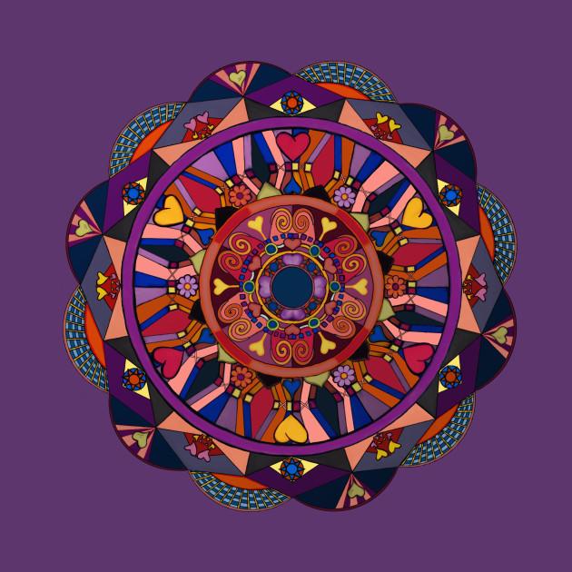 watch over my heart mandala mandala pattern t shirt teepublic