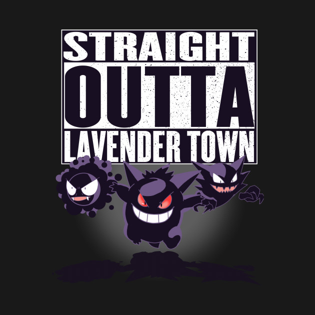Straight outta lavender town