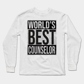 d9697eaf58 Counselor Long Sleeve T-Shirts   TeePublic