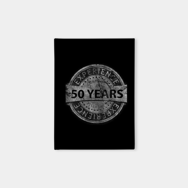 50th Birthday Gift Vintage Tough Style For Parents Husband Or Friend Notebook