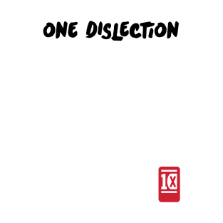 One Dislection t-shirts