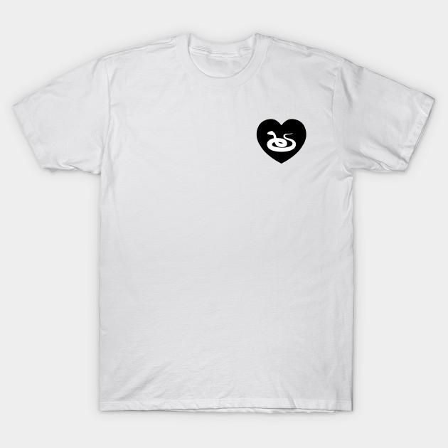 0c0dd10b1619 Snake Love   I Heart... - Snake - T-Shirt   TeePublic
