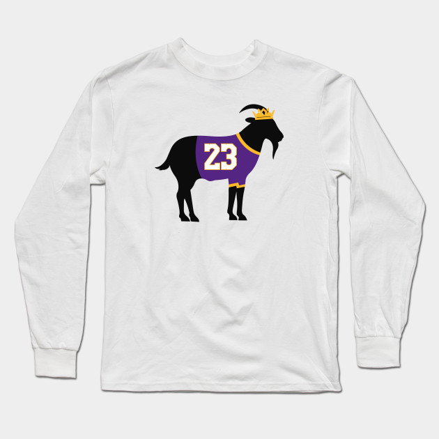 f7bce313 Lakers Lebron James Goat - Lebron James - Long Sleeve T-Shirt ...